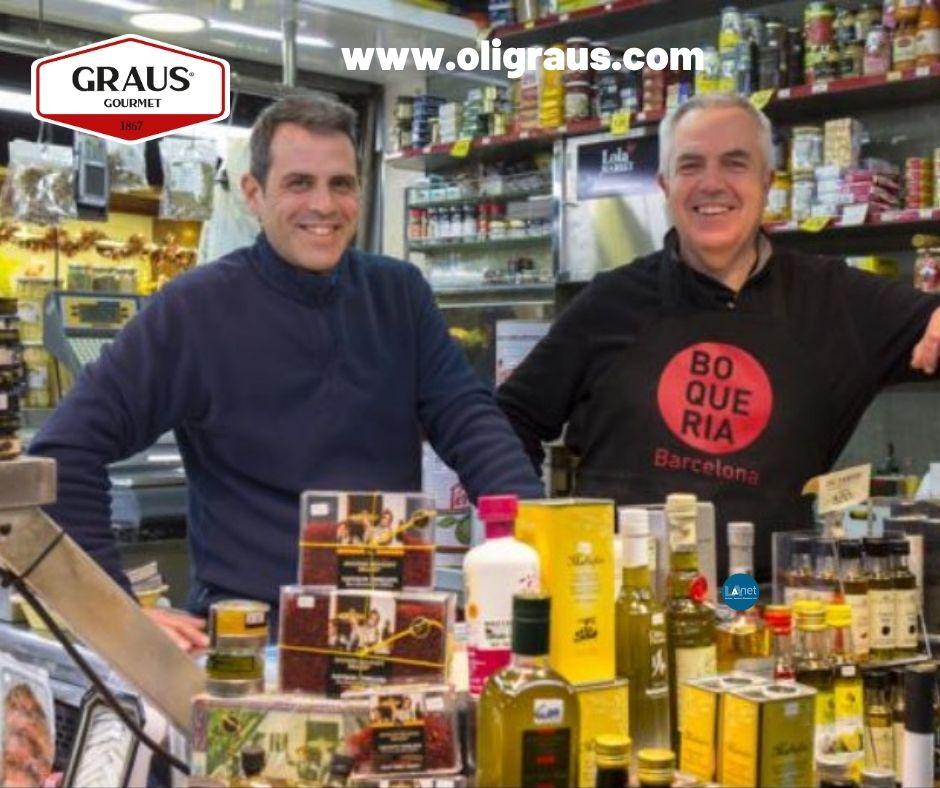 Olives i conserves graus mercado sant josep la boqueria barcelona spain Propietaris1