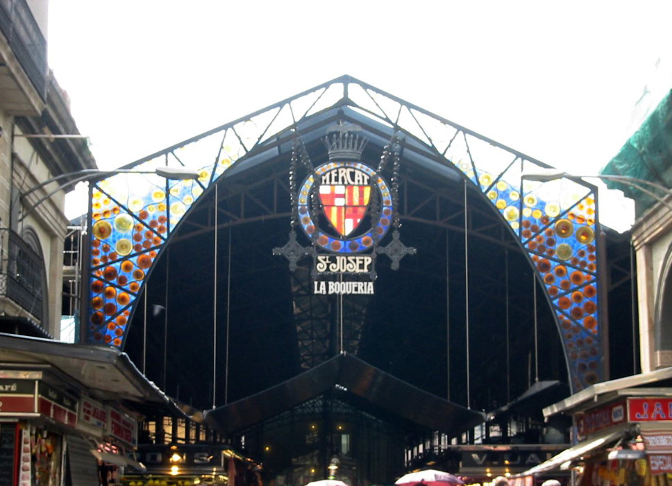 la boqueria barcelona mercado